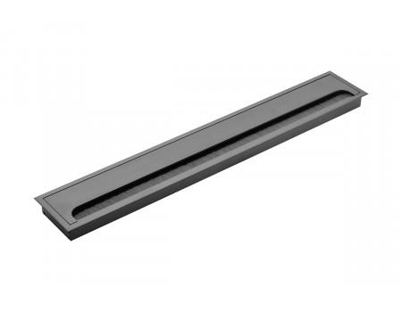 Пропуск для кабеля Merida 80х500, черный