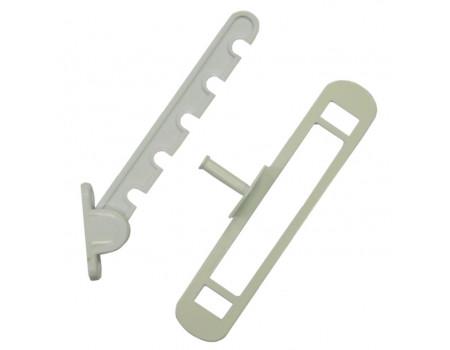 Гребенка оконная для алюминиевых окон Vertex, пластик, белая