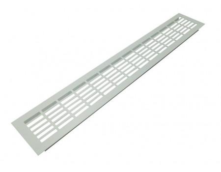 Вентиляционная решетка SETE для подоконника 480х80 мм белая
