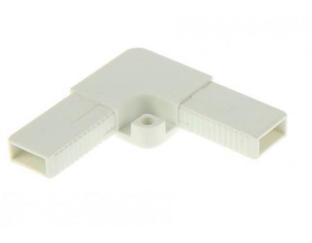 Уголок для рамочной москитной сетки усиленный белый