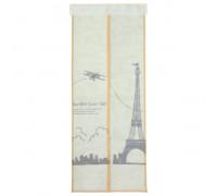 Сетка антимоскитная на магнитной ленте 80x210 см Париж, цвет бежевый