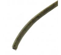 Фетровый щеточный  уплотнитель шлегель самоклеящийся 6х7 мм 3Р серый