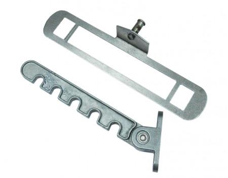 Гребенка оконная для алюминиевых окон Vertex неокрашенная, металл