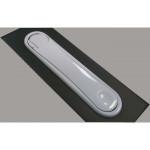 Скрытая оконная ручка TENTAZIONE MACO для деревянных и пластиковых* окон белая