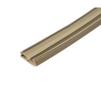 Уплотнитель для деревянных окон, ширина паза 4-5 мм, бежевый
