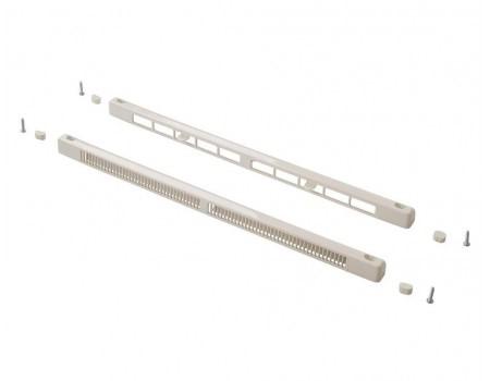 Комплект c контролем потока воздуха: клапан SM Tip Vent + козырек Press, 9-35 m3/ч, белый