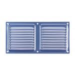Вентиляционный клапан Двервент дверной 400 х 100 мм, цвет хром