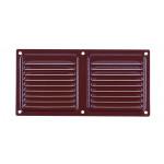 Вентиляционный клапан Двервент дверной 400 х 100 мм коричневый