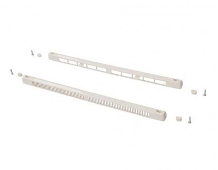 Комплект: клапан вентиляционный Brookvent SM Tip Vent + козырек наружный TIP, 9-40 m3/ч, белый