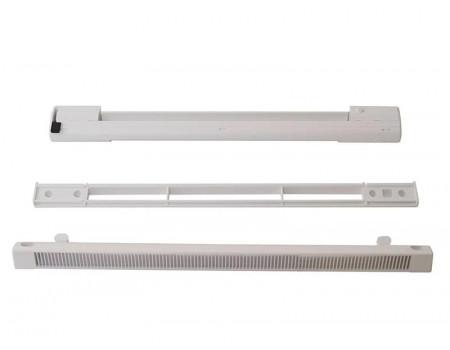 Комплект: приточный клапан EMM, козырек ASAM 5-35 м3/ч, EMM 707 TB, белый